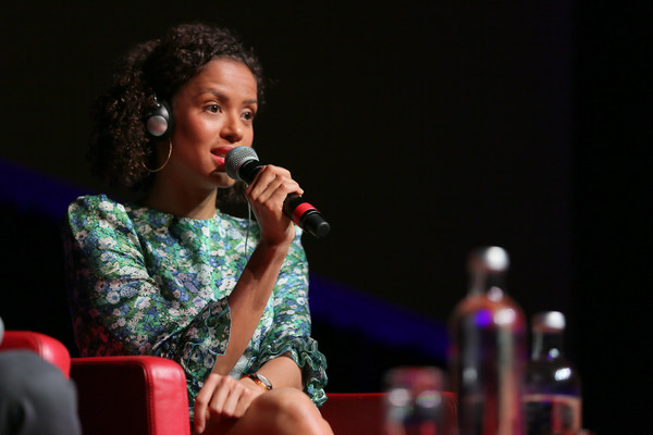More Pics of Gugu Mbatha-Raw Gold Quartz Watch (6 of 13) - Dial Watches Lookbook - StyleBistro [motherless brooklyn,entertainment,performance,music artist,singing,performing arts,singer,music,song,event,talent show,gugu mbatha-raw,rome,italy,press conference,motherless brooklyn press conference - 14th rome film fest 2019,rome film festival]
