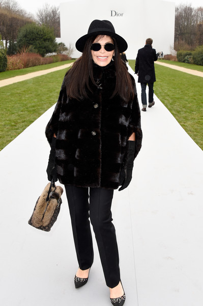 Mouna Ayoub Fur Coat