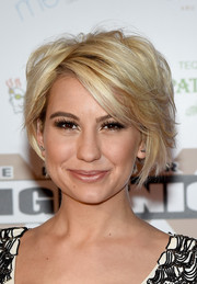 Chelsea Kane sported a messy-sexy hairstyle at Muhammad Ali's Celebrity Fight Night XXI.