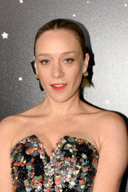Chloe Sevigny attended the MoMA Tribute to Martin Scorsese wearing her hair in a low twisted bun.