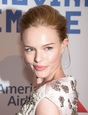 Kate Bosworth pulled her hair back into a stylish bun for the Museum of Moving Image tribute to Kevin Spacey.
