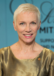 Annie Lennox sported a cool pixie cut at the Music Industry Trust Awards.