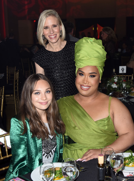 More Pics of Maddie Ziegler Evening Sandals (2 of 28) - Maddie Ziegler Lookbook - StyleBistro [lady,event,blond,smile,meal,party,dinner,lunch,my friends place 30th anniversary red carpet,honoree,l-r,gala,place 30th anniversary gala,coo,my friend,instagram marne levine,maddie ziegler,patrick starrr]