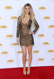 Marissa Miller showed off her mile-long legs in a super-short sequined dress by Amen during the Sports Illustrated Swimsuit Issue 50th anniversary bash.
