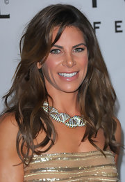 Jillian Michaels made the just-got-out-of-bed hair look so gorgeous during the Golden Globes after-party.