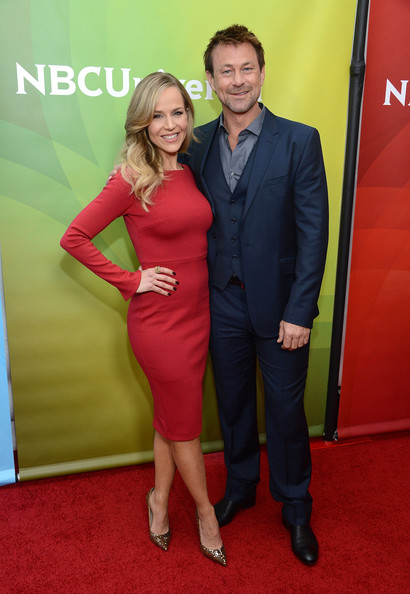 More Pics of Julie Benz Cocktail Dress (1 of 7) - Julie Benz Lookbook - StyleBistro