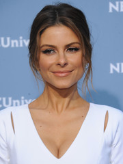 Maria Menounos sported a casual yet sophisticated braid at the NBCUniversal Upfront.