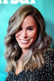 Melissa Rivers sported stylish, high-volume waves at the NBCUniversal Press Tour.
