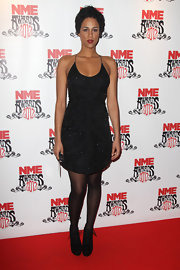 Zawe Ashton wore this glittering LBD to the NME Awards.