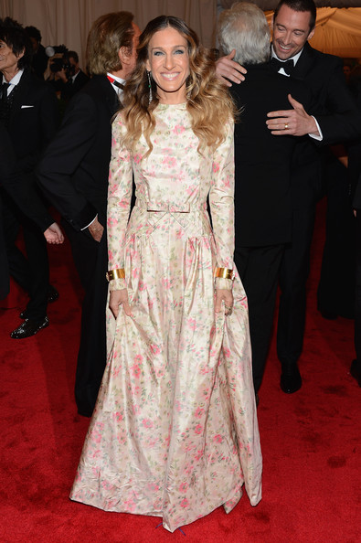 Sarah Jessica Parker In Valentino, 2012