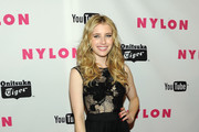 Actress Emma Roberts arrives at NYLON Magazine's May Young Hollywood Issue Celebration at Bardot on May 4, 2011 in Hollywood, California.