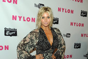 Actress Alyson Michalka arrives at NYLON Magazine's May Young Hollywood Issue Celebration at Bardot on May 4, 2011 in Hollywood, California.