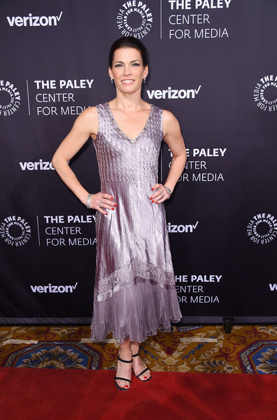 Nancy Kerrigan Cocktail Dress [paley honors: celebrating women in television,clothing,red carpet,carpet,dress,premiere,flooring,fashion,shoulder,formal wear,cocktail dress,nancy kerrigan,new york city,cipriani wall street,the paley honors: celebrating women in television,event]