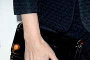 Nancy Meyers Patent Leather Clutch