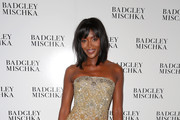 Naomi Campbell Strapless Dress