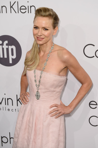Naomi Watts Cross Pendant