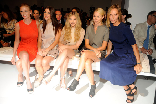 Stars at the Calvin Klein Collection Show