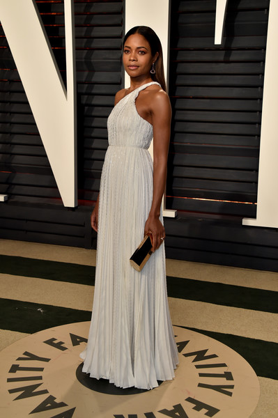 Naomie Harris One Shoulder Dress