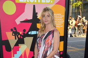 Nastassja Kinski Print Dress