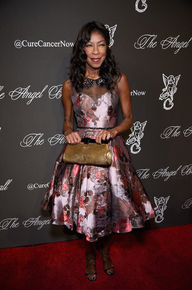 Natalie Cole Metallic Clutch