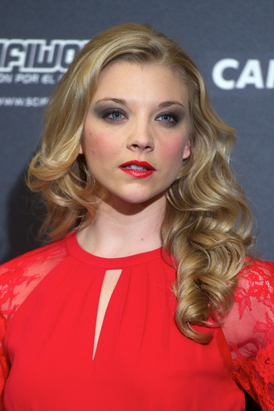 Natalie Dormer Long Wavy Cut