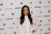 Natalie Martinez Button Down Shirt