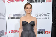 Natalie Portman Strapless Dress