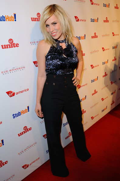 Natasha Bedingfield High-Waisted Pants