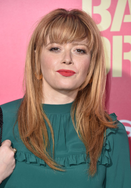 Natasha Lyonne Long Straight Cut with Bangs