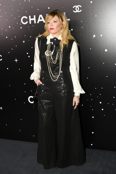 Natasha Lyonne Jumpsuit [museum of modern art film benefit presented by chanel: a tribute to,museum of modern art film benefit presented by chanel: a tribute to martin scorsese,clothing,lady,fashion,dress,formal wear,outerwear,gothic fashion,costume,style,fashion design,arrivals,martin scorsese,natasha lyonne,metiers dart collection,new york city,chanel paris hamburg]