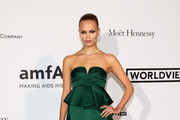 Natasha Poly Strapless Dress