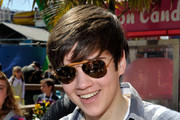 Nathan Kress Aviator Sunglasses