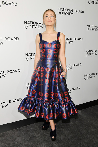 More Pics of Olivia Wilde Messy Updo (3 of 14) - Olivia Wilde Lookbook - StyleBistro [clothing,dress,fashion,fashion model,cocktail dress,premiere,footwear,carpet,fashion design,fashion show,arrivals,olivia wilde,new york city,cipriani 42nd street,the national board of review annual awards gala,national board of review annual awards gala]