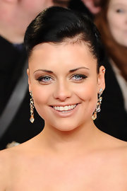 Shona McGarty's blue eyes sparkled alongside soft neutral shades of shadow at the National Television Awards.
