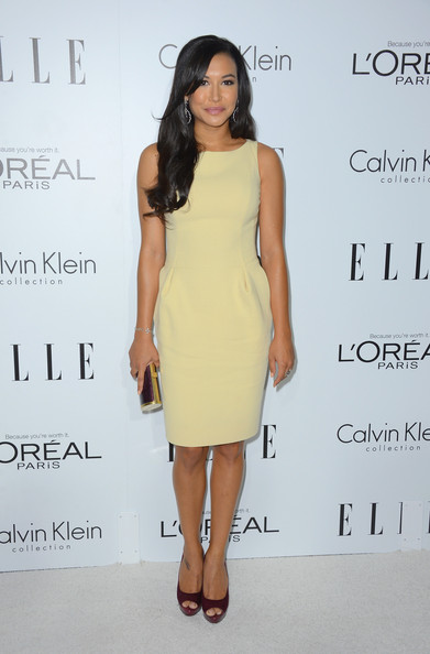 Naya Rivera Cocktail Dress