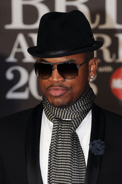 Ne-Yo Patterned Scarf