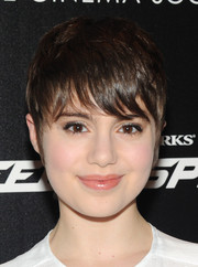Sami Gayle attended the 'Need for Speed' screening sporting her trademark pixie.