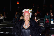 Neon Hitch Fur Coat