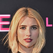 Emma Roberts Center-Part Bob