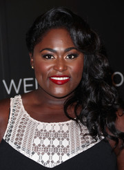 Danielle Brooks brought some Old Hollywood glamour to the Netflix FYSEE kickoff event with this curly side sweep.
