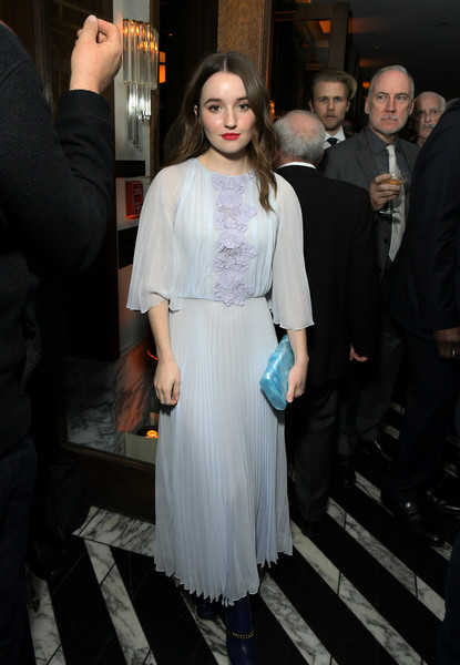 More Pics of Kaitlyn Dever Evening Dress (1 of 1) - Kaitlyn Dever Lookbook - StyleBistro [white,fashion,clothing,dress,haute couture,hairstyle,event,premiere,cocktail dress,shoulder,kaitlyn dever,cecconis restaurant,los angeles,california,netflix,golden globe weekend cocktail party,netflix golden globe weekend cocktail party,kaitlyn dever,tim allen,eve baxter,last man standing,golden globe awards,unbelievable,booksmart,celebrity]