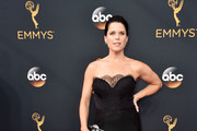 Neve Campbell Mermaid Gown