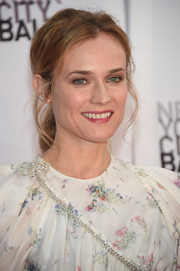 Diane Kruger worked a messy-sexy ponytail at the New York City Ballet Fall Gala.