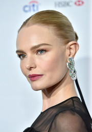 Kate Bosworth attended the Stand Up for Heroes event wearing her hair in a tight bun.