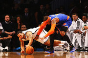 Deron Williams and Carmelo Anthony Photo