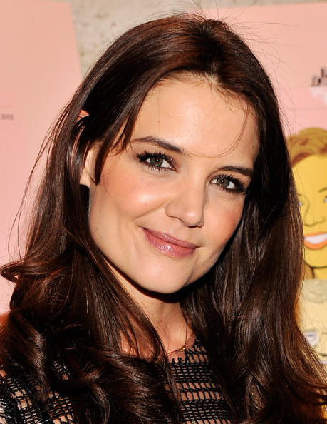 More Pics of Katie Holmes Long Curls (1 of 7) - Long Curls Lookbook - StyleBistro