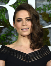Hayley Atwell went majorly glam with these side-swept curls for the New York premiere of 'Howard's End.'