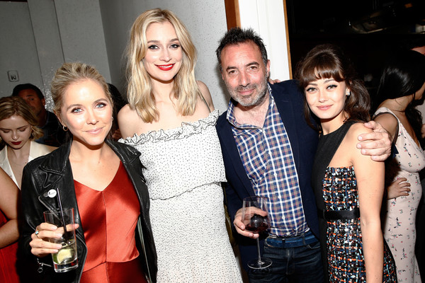 More Pics of Caitlin Fitzgerald Off-the-Shoulder Dress (1 of 15) - Caitlin Fitzgerald Lookbook - StyleBistro [event,fashion,party,photography,alcohol,style,red carpet,sweetbitter,caitlin fitzgerald,richard shepard,ella purnell,writer,new york,world premiere screening of starz,party,tribeca film festival]