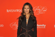 Nia Peeples Evening Coat