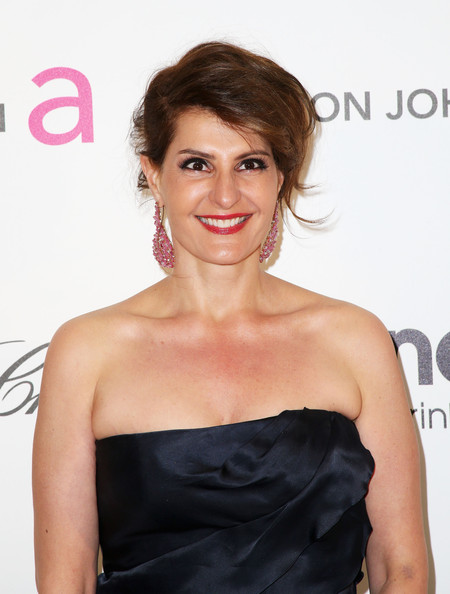 more pics of nia vardalos strapless dress 1 of 5 nia